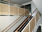 東職業安定所階段手摺壁工事